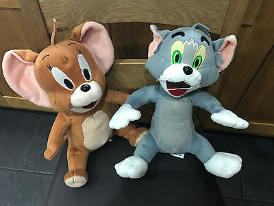 """Warner Bros 12""""  TOM & JERRY Soft Plush Cat & Mouse Collectable Toys as Pictured"""