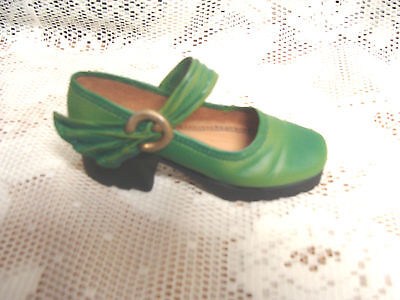 Just The Right Shoe 25078 Green Treads Athletic Mary Jane 1999