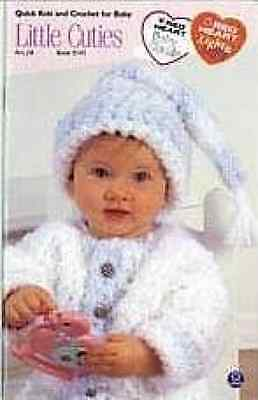 Little Cuties Knit and Crochet Pattern Booklet 5 Designs