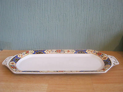 Vintage Soho Pottery Ltd Cobridge England Sandwich Plate
