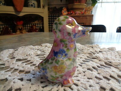 Floral Duck - Nantucket China - Too Cute!!