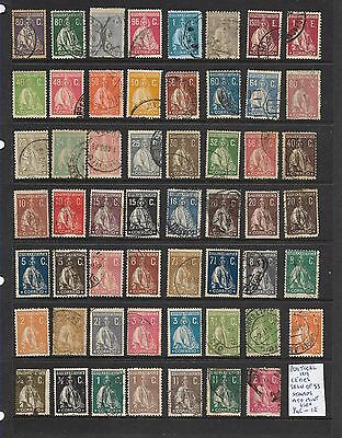Portugal 1912 mint/used selection