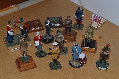 Collection of Nicely Painted 54mm Toy Soldiers x 11 Seil / Andrea Lot