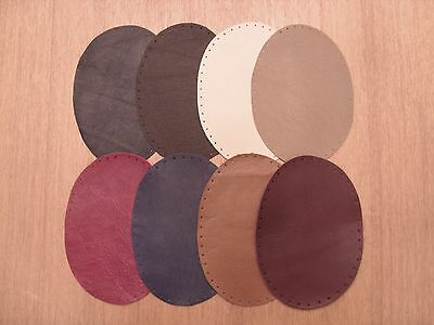 Leather Elbow / Knee Patches   9 Colour Choice And Three Sizes To Choose From