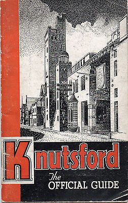 KNUTSFORD - OFFICIAL GUIDE c1950