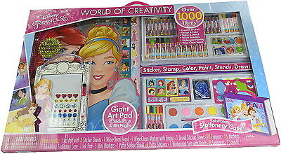 Disney Princess World of Creativity Giant Art Pad, Over 1000 Items