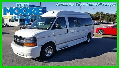 2015 Chevrolet Express Rocky Ridge Hightop 9 Passenger 2015 Rocky Ridge Hightop 9 Passenger Used 6L V8 16V Automatic RWD Minivan/Van