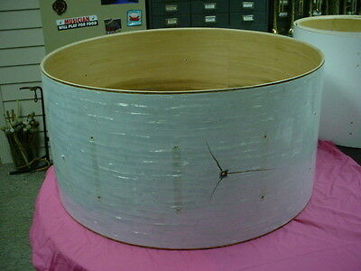 "Vintage 70's  LUDWIG  USA 32"" headsize x 16"" Deep WMP  Bass  Drum Shell No Res#1"