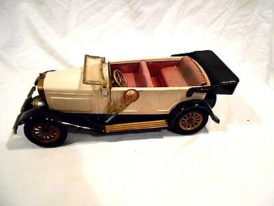Vintage Made in Japan Tin Friction S-1925 Touring Car