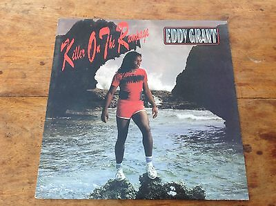 "Eddy Grant KILLER ON THE RAMPAGE 12"" Vinyl RECORD ICELP 3023 ICE RECORDS 1982"
