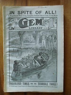 The Gem   No 432  20 -5 - 1916    In Spite of All