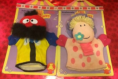 Magic Roundabout Ermintrude And Zebedee Hand Puppet Toys 1993
