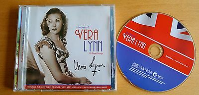 Dame Vera Lynn Genuine Hand Signed Autograph The Very Best Of Cd Ww2 Forces Coa