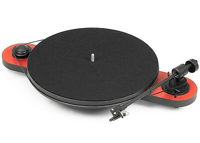 Pro-Ject (Project) Elemental DC Turntable with OM5E Cartridge - Red