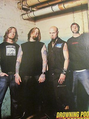 Drowning Pool, Full Page Pinup