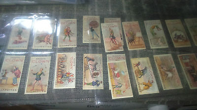Taddy's Clowns & Circus Artists.Reprint of 1920 set.Full set of 20.