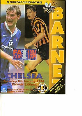 Barnet v Chelsea 1993/94 FA Cup 3rd round
