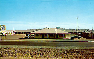 Vintage 1950's Myers Motel Postcard - Lordsburg, New Mexico, Mint Cond, New!!!