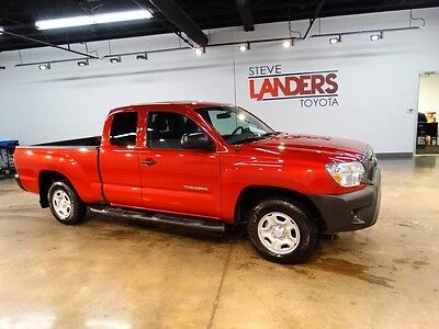 2015 Toyota Tacoma Base Extended Cab Pickup 4-Door CERTIFIED LOW BOY 4 CYLINDER RUNNING BOARDS CALL NOW WE FINANCE
