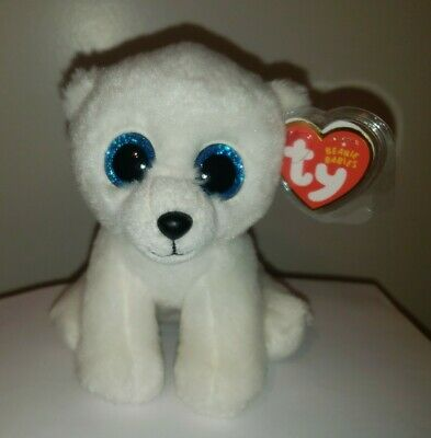 Ty Beanie Baby ~ ARCTIC the Polar Bear (6 Inch) MWMT