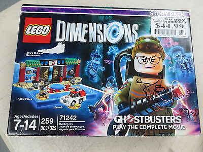 LEGO Dimensions Story Pack, New Ghostbusters / New Sealed / 71242 / 259 pieces