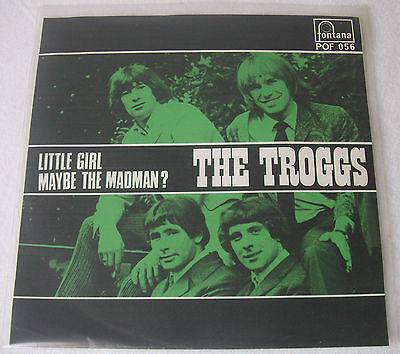 """7"""" TROGGS - LITTLE GIRL / MAYBE THE MADMAN ? - Sweden 1968"""