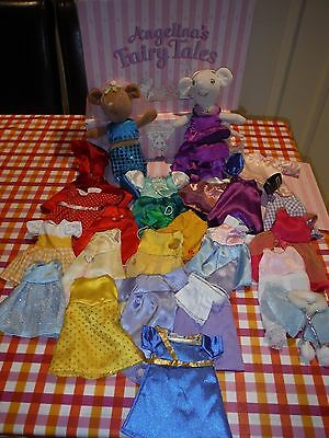 Angelina Ballerina Fairy Tales Dressing Up Set with Toys and clothes!