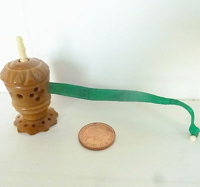 Antique Vegetable Ivory Tape Measure Original Tape Vintage Sewing