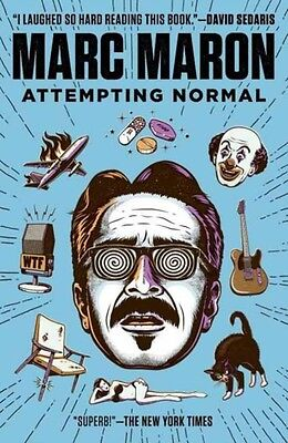 Attempting Normal (Paperback), Marc Maron, 9780812982787