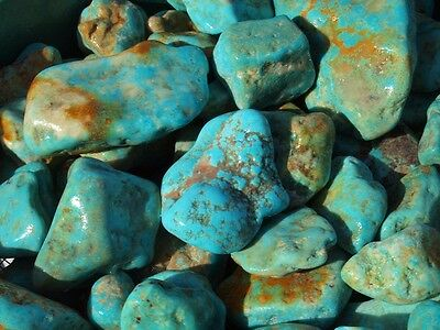 1 Pound Blue KINGMAN Arizona TURQUOISE Nuggets