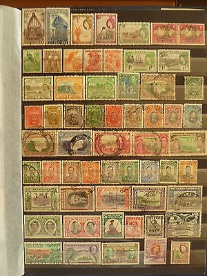 British Colonies in Africa, Australia areas old stamp collection.