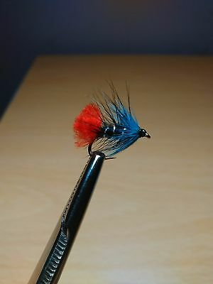 Blue Zulu Trout Buzzers Trout Lures Dry  Fly Fishing Trout Flies