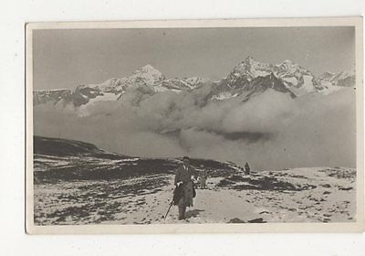 Switzerland Mountaineering WR Edwards Vintage Plain Back RP Card 270a