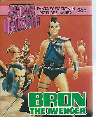 Bron The Evenger,starblazer Fantasy Fiction In Pictures,no.182,1986,comic