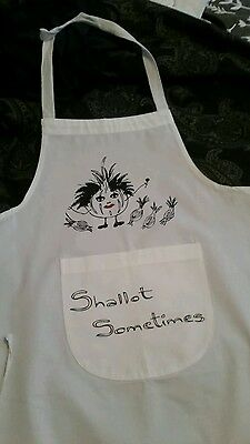 The cure inspired apron