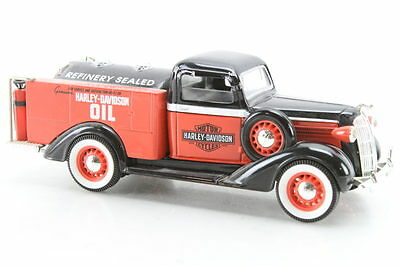 Harley Davidson Refinery Sealed Oil Toy Truck Diecast