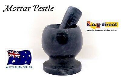 Fine Kitchen Marble Granite Mortar And Pestle For The Master Chef 9Cm Hw-207