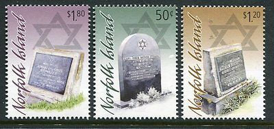 2008 Norfolk Island A Jewish Resting Place - MUH Complete Set