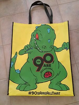 SDCC Comic Con 2014 Rare Rugrats REPTAR The 90's are All That Tote Swag Bag