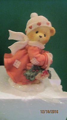 """Cherished Teddies Shirley """"These Are The Best Kind Of Days"""" Figurine in box"""