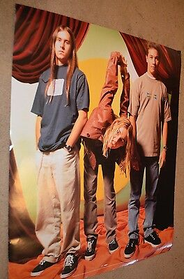 SILVERCHAIR Freak Show GRUNGE ROCK BAND Promo VTG 90s 24x36 LARGE WALL POSTER