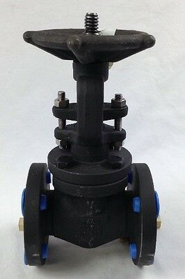 "Velan Hwav A105 N 1"" Forged Steel Gate Valve Free Shipping"