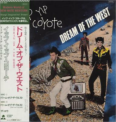 "Dream Of the West Yip Yip Coyote 12"" vinyl single record (Maxi) Japanese"