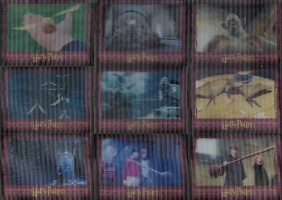 World Of Harry Potter In 3D 2007 Artbox Complete Base Card Set Of 72 Movie