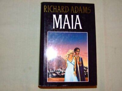 Maia, Adams, Richard Hardback Book The Cheap Fast Free Post