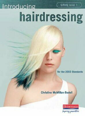 S/NVQ Level 1 Introducing Hairdressing by McMillan-Bodell, Christine Paperback