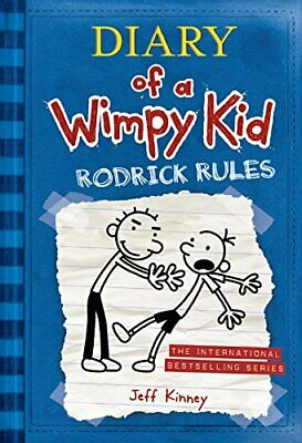 Diary of a Wimpy Kid 02. Rodrick Rules by Kinney, Jeff Book The Cheap Fast Free