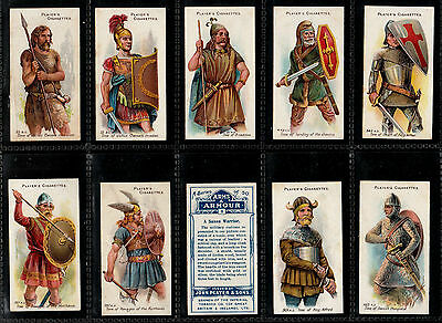 "Players 1909 Interesting ( Military Arms ) Full 50 Card Set  "" Arms & Amour """