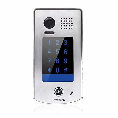 Add-On Door station with keypad for Eyevision 2 wires video intercom systems