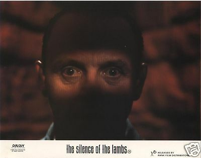 SILENCE OF THE LAMBS lobby cards  ANTHONY HOPKINS, JODIE FOSTER